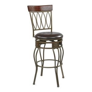 Office Star Carson Counter Affordable Stool Elite