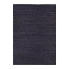 "Evie Contemporary Area Rug, Purple, 5'x7'6"""
