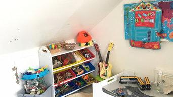 Organisation coin jouets