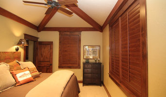 shutters Old Baldy Club residence Knotty Alder stained