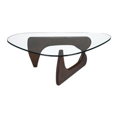 Perfect Poly And Bark   Poly And Bark Sculpture Coffee Table, Dark   Coffee Tables