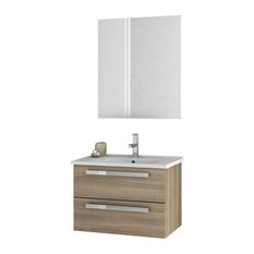 "24"" Larch Canapa Bathroom Vanity Set"