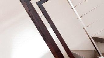 Stahlbeton treppen