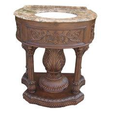 Harris Furniture   Sink Vanity Brown/Beige/Tan Siena Bisque   Bathroom  Vanities And