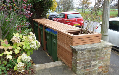 How to Disguise Rubbish and Recycling Bins Outside Your Home