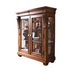 Nox Walnut Modern Display Cabinets - Modern - Buffets And ...
