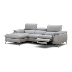 J&M Furniture - Serena Premium Leather Sectional, Left Hand Facing - Sectional Sofas