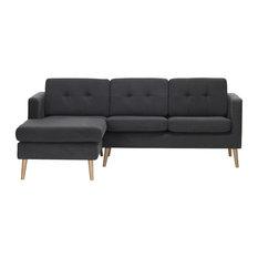 York Sectional Sofa Left Corner