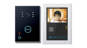 Touch Farb-Videotürprechanlage / eine Innenstation (SET: 651CK/397) - innen / au
