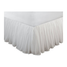 """Greenland Cotton Voile Twin Bed Skirt 15"""""""