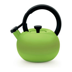 Circulon Circles Steel Teakettle, Kiwi Green