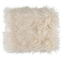 Kharaa Throw Blanket, Off-White
