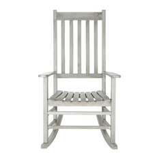 Safavieh Shasta Outdoor Rocking Chair, Gray Wash