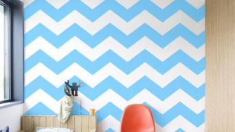 Abstract Wall Patterns - Easy to apply and remove