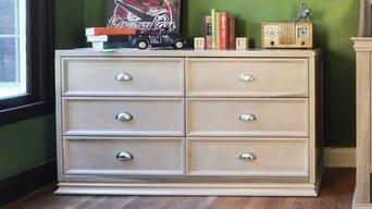 Franklin & Ben - Mason Double Wide Dresser, Weathered Grey