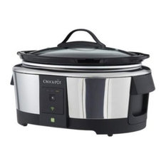 Crock-Pot 6-Quart Wi-Fi Controlled Smart Slow Cooker Enabled by WeMo