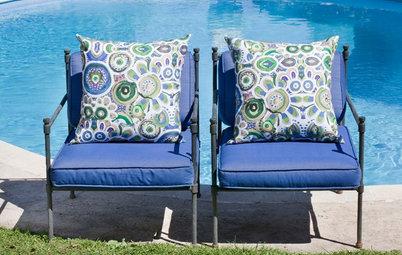 Cómo elegir las mejores telas para la terraza y el jardín