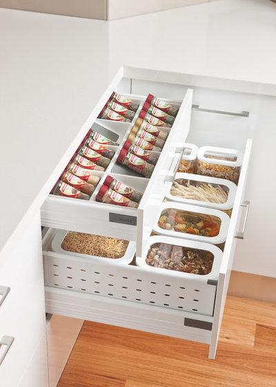 How to organise your kitchen storage houzz - Howards storage ...