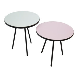 Set of 2 Rosa Pastel Tables