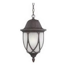 "Designers Fountain Capella Hanging Lantern, Autumn Gold, 11"""