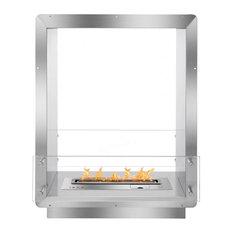 "Ignis 28"" Wide Double-Sided Ethanol Burning Smart Firebox"