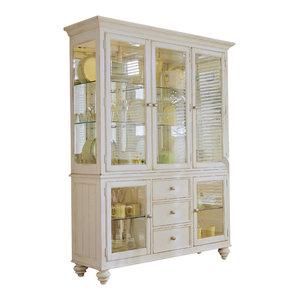 Paula Deen Home Hutch Buffet, Linen - China Cabinets And ...