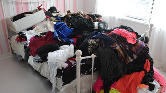 First Clothes Declutter and Organisation