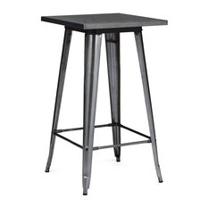 Bar Table, Dark Gunmetal Finish