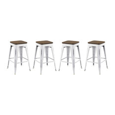 Promenade Counter Stool Set Of 4 By Modway