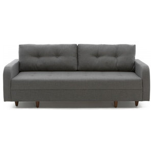 Empire Sleeper Sofa With Storage Gray