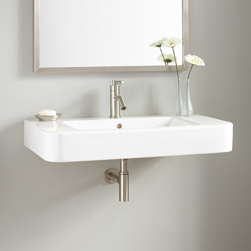 wall mount bathroom sinks - Wall Mount Bathroom Sink