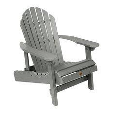 Hamilton Folding and Reclining Adirondack Chair, Coastal Teak