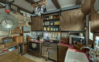 Kitchen Tour: Condo Cookspace Goes Country