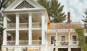 farm house transformed into a Greek Revival