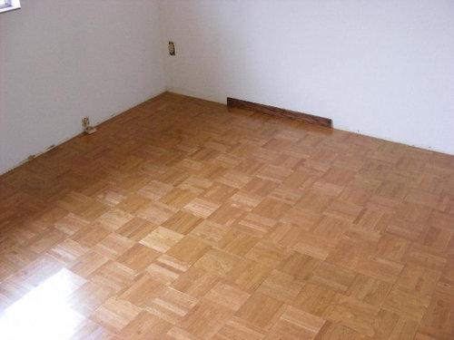 Help Checkerboard Parquet Flooring