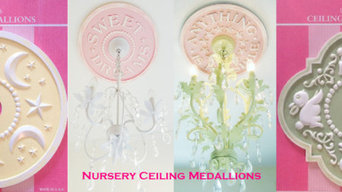 Ceiling Medallions by Marie Ricci