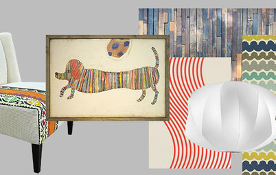 Shop Houzz: Stripes of a Different Kind
