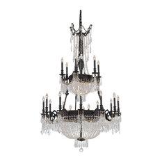"""Elegant Lighting Esperanza Hallway Fixture, Dark Bronze, 41""""x63"""""""