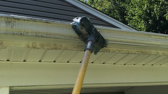 Gutter Stain Removal