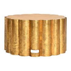 Miriam Coffee Table, Gold