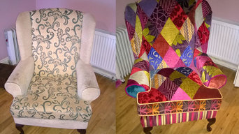 Patchwork Queen Ann Chair