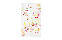 Watercolor Floral Towel