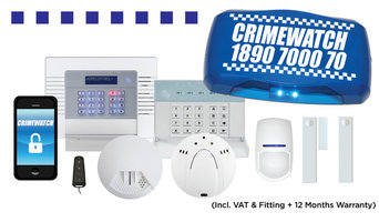 Domestic Intruder Alarm Package