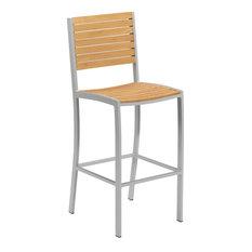 Paphos Bar Chair, Real Teak