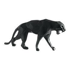 Daum Crystal Panther Wild Black