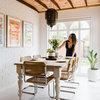 Houzz Tour: A 1920s Home Where Clean Lines Meet Raw Textures