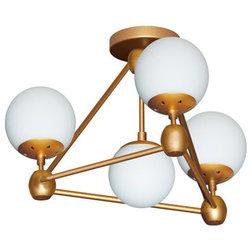 Midcentury Flush-mount Ceiling Lighting by HedgeApple