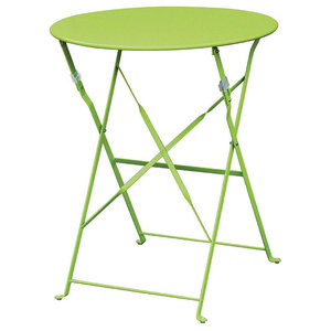 Cafe Outdoor Patio Table, Apple Green