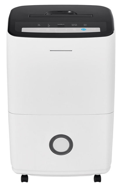 70-Pint Dehumidifier With Built-in Pump, White