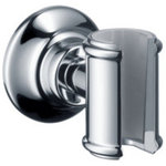 Hansgrohe - Axor Montreux Handshower Porter, Brushed Nickel - Here you can find showers for every application area, where sophisticated technology and innovative functionality combine with outstanding design. Axor and Hansgrohe offer a wide range of products for the shower: These include handshowers, showerheads, body sprays, shower sets, shower combinations or showerpipes � many with different jet types � which have all been developed and tested according to different customer requirements in our in-house spray research department.